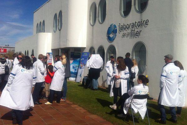 Les salariés du laboratoire de la mer Physiomer se mobilisent après l'éviction de leur directeur