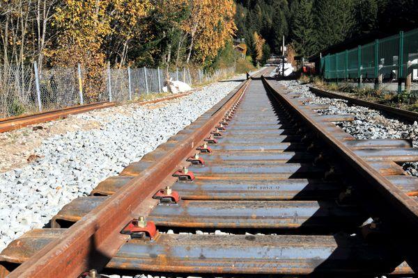 Le circulation des trains a repris sur la ligne Saint-Gervais/Vallorcine, en Haute-Savoie, après un éboulement.