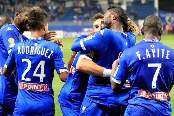 Grâce à cette victoire, le Sporting s'est qualifié pour les huitièmes de finale de la Coupe de la Ligue.