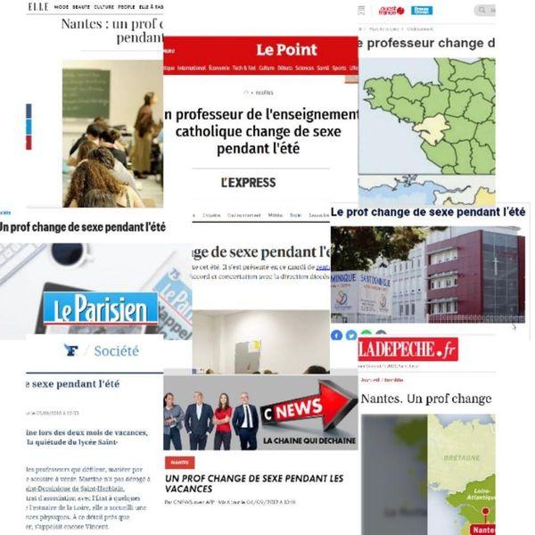 En 2012, le coming-out de Martine est relayée par toute la presse nationale.