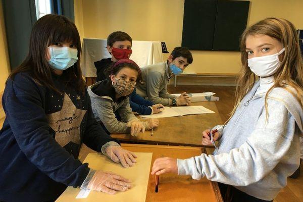 Les CM1/CM2 de l'école Odette Couty élisaient leurs représentants au Conseil Municipal des Enfants de Limoges ce jeudi 19 novembre