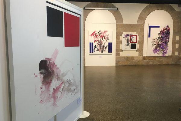 L'exposition a lieu à la Halle aux Grains à St-Junien jusqu'au 18 septembre.
