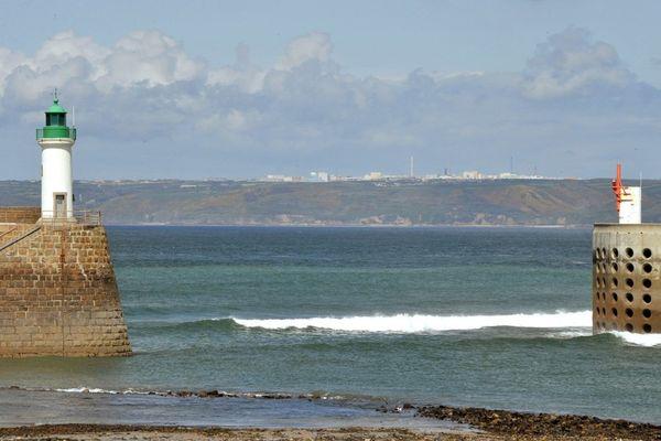 Port Diélette dans le Cotentin
