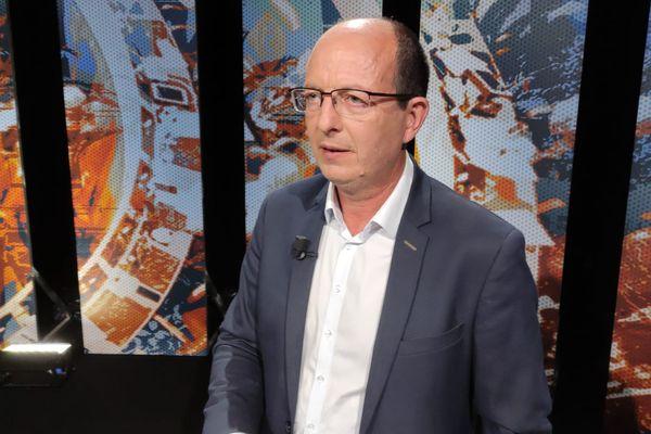"""Paul-Félix Benedetti et la liste """"Core in Fronte"""" ont reçu le soutien d'A manca."""