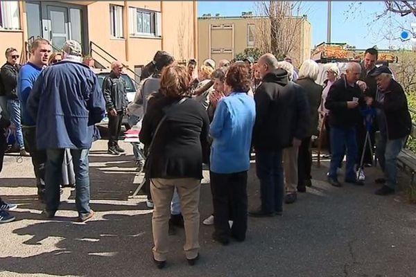 En mars dernier, des habitants de la cité se mobilisaient pour faire entendre leur voix.