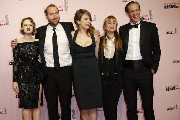 """Le film """"Suzanne"""", de Katell Quillévéré, a reçu un César dans la catégorie de la meilleure actrice dans un second rôle, avec Adèle Haenel (au centre)."""