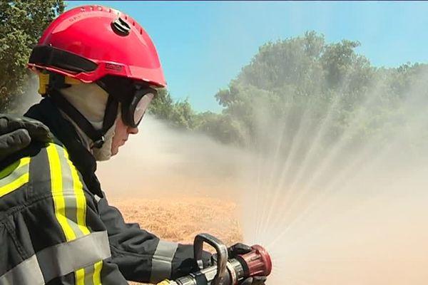Campagne 2018 de lutte contre les feux de forêt dans le Gard