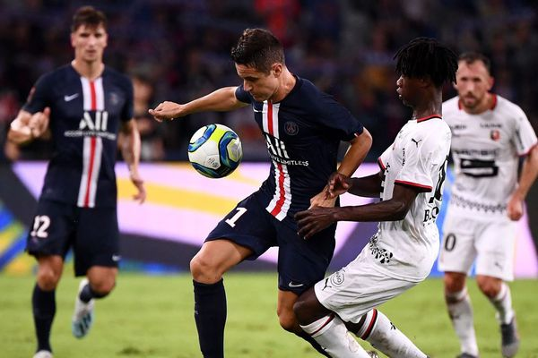 Ander Herrera a été recruté en juillet par le PSG, pour renforcer le milieu de terrain du club.