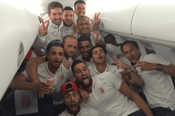Retour de Lorient joyeux pour les joueurs de l'AS Monaco !