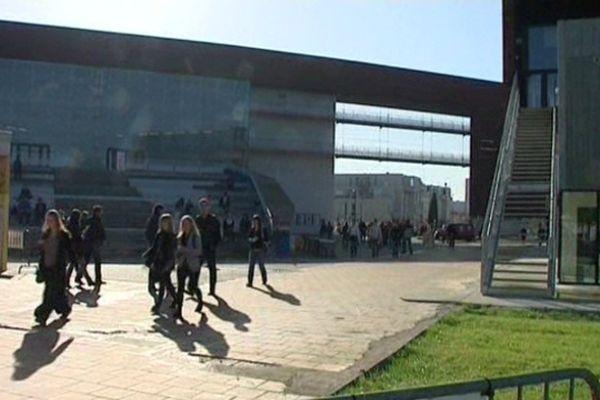 """L'université de Toulouse-Le-Mirail, où est programmé le meeting """"Palestine vaincra"""""""