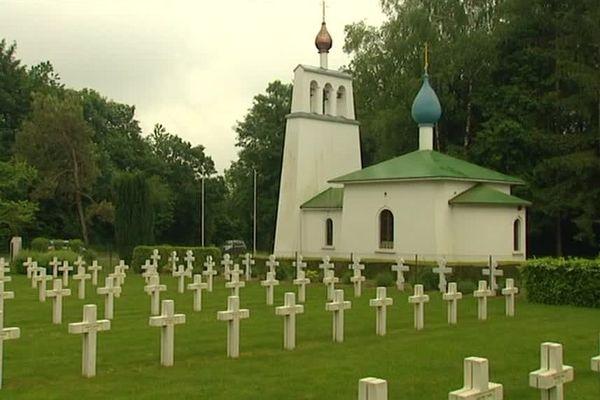 Le cimetière russe de Saint-Hilaire-le-Grand, dans la Marne, fait partie des sites sélectionnés.