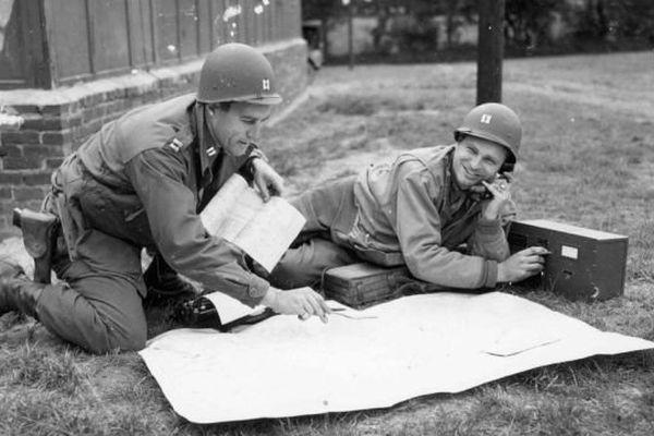 Les cours de cartographie dispensés aux soldats américains en 1944 avant le Débarquement (Archives)