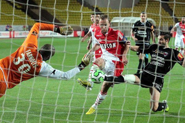Monaco, le 22/04/2013, L'AS Monaco s'est imposée 4-0 sur le Clermont Foot.
