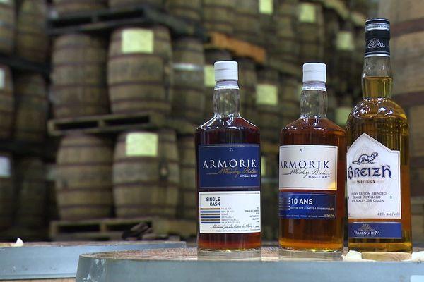 Les trois whiskies Warenghem de Lannion distingués par le World Whisky Awards