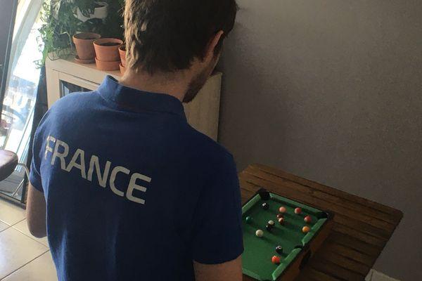 Il faut maintenir le niveau pour rester en Equipe de France (bon c'est vrai, je frime un peu).