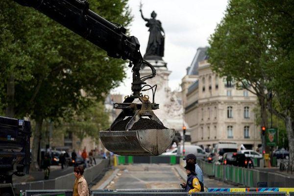 Les travaux sont à tous les coins de rue de Paris depuis le début de l'année.