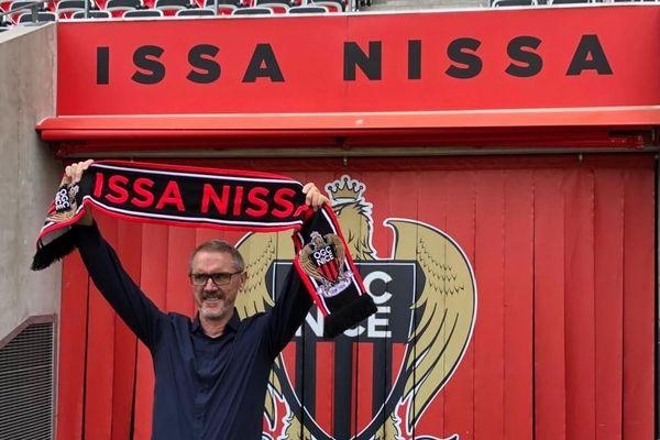 Bob Ratcliffe, président d'INEOS Football ce mardi au Stade Allianz à Nice.