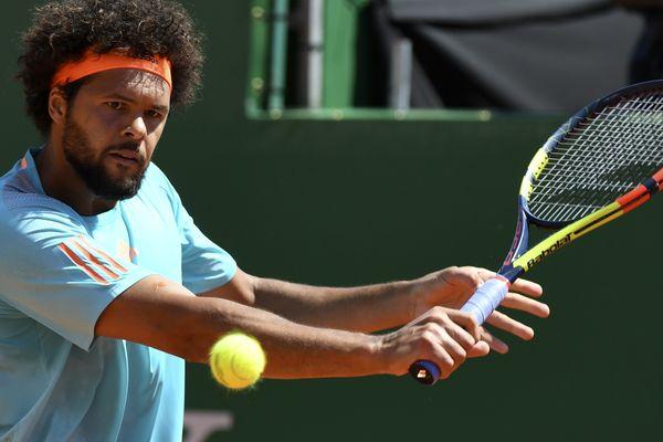 Jo-Wilfried Tsonga, le 18 avril, à Monte-Carlo