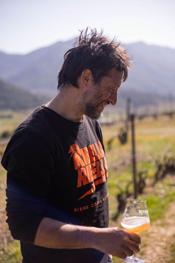 Depuis une dizaine d'années, Pierre-François Maestracci est à la tête de la brasserie autonome Ribella.