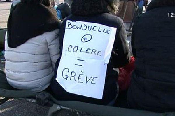 Les salariés de Bonduelle sont en grève.