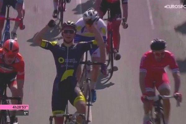 Coquard vainqueur de la 1ère étape des 4 jours de Dunkerque.