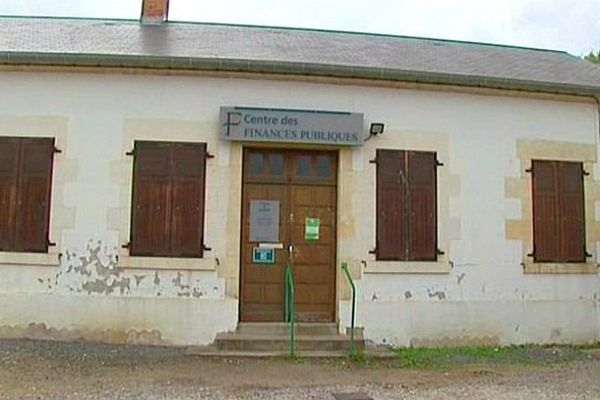 La trésorerie de Guérigny, dans la Nièvre, est menacée de fermeture.