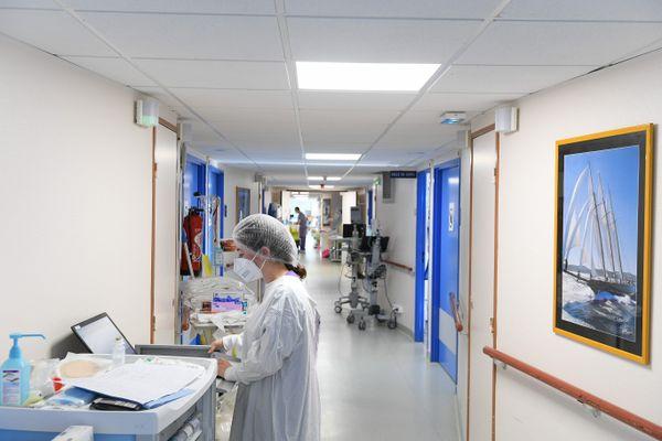 Clinique de l'Anjou, à Angers en novembre 2020