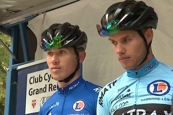 Joshua, à gauche, a remporté le cyclo-cross de Reims pour la seconde année consécutive / Reims, 27 octobre 2018
