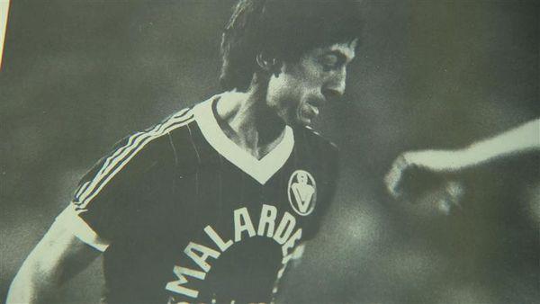 Alain Giresse lors d'un de ses nombreux matchs