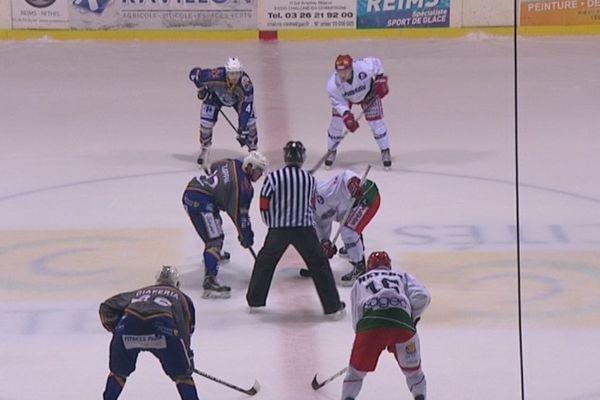 Paradoxe. C'est à Châlons que les hockeyeurs Rémois ont disputé leur dernier match de la saison.