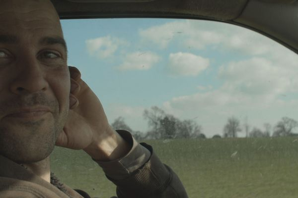 """Florent Picard joue son rôle dans """"Poulain"""""""
