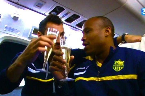 Champagne pour un retour en Ligue 1