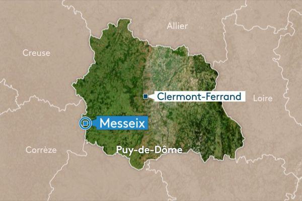 La circulation est perturbée sur l'A89 au niveau de Messeix, dans le Puy-de-Dôme.