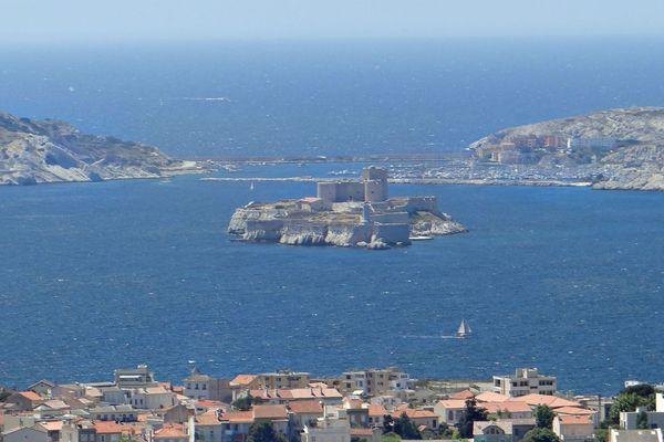 Les îles du Frioul et le Château d'If (Marseille).