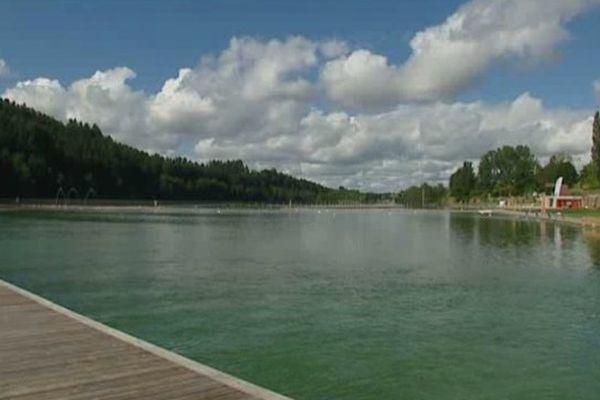 Baignade biologique au lac des Sapins  - archives 09/07/12