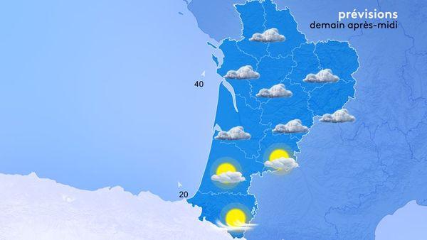 Le temps se dégradera vite demain mercredi