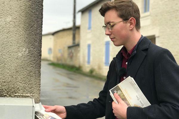 Quentin Cornet mise sur sa jeunesse pour faire bouger son village.