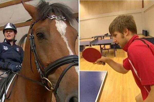 Céline Gerny et Lucas Créange s'apprêtent à participer aux jeux paralympiques de Rio.