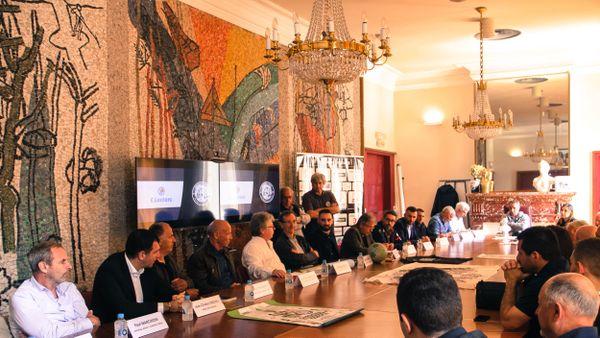 Conférence de presse, ce matin à Porto-Vecchio