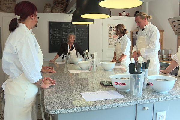 Un cours de petits choux à l'Atelier 203 de Christine Pellerin de Sotteville-sous-le-Val