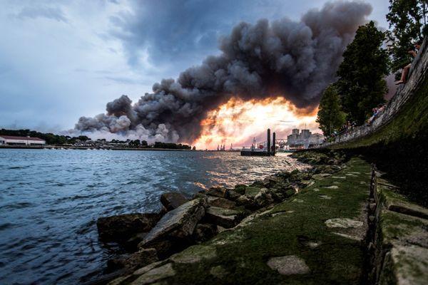 Des dizaines d'habitations ont été évacuées.