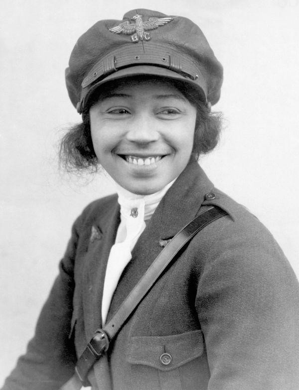 Bessie Coleman en 1923.