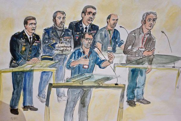 Six militaires de la Garde républicaine présents au Stade de France le 13 novembre 2015 ont plongé la cour dans l'émotion ce mardi 28 septembre.