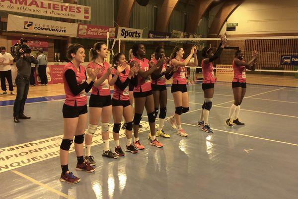 Les Panthères de Chamalières ont remporté leur dernier match de la saison face aux filles de Clamart.