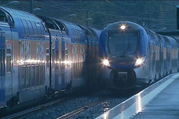 Trafic perturbé jusqu'au 25 décembre sur les lignes TER PACA