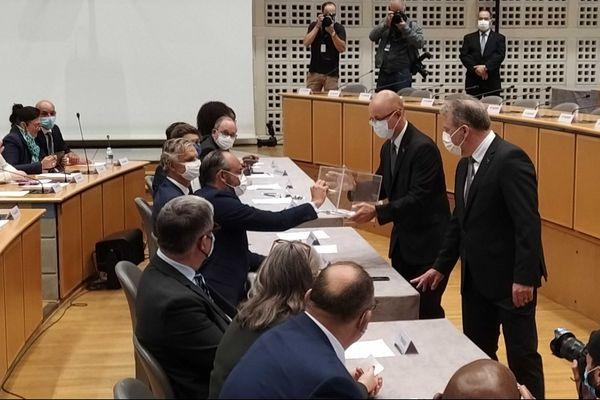 5 juillet 2020 – vote d'Edouard Philippe au conseil municipal