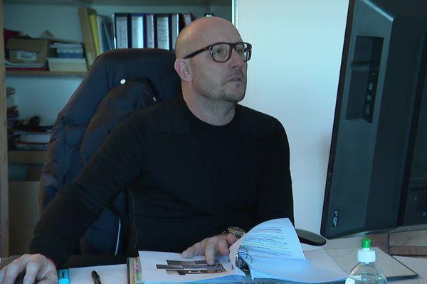 Jean-François Succi, gérant de la SAS Sant'Anghjulu