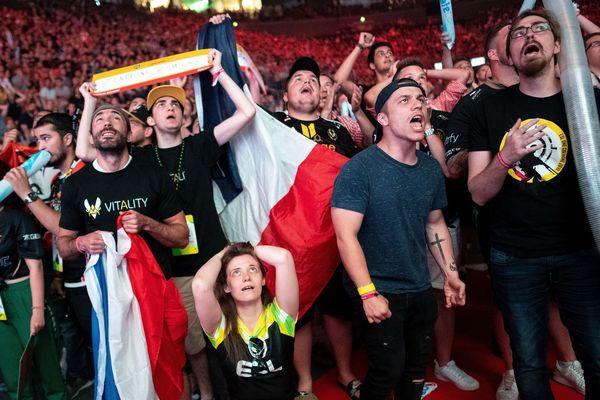 Crée en 2000, les jeux de tir Counter-Strike et son itération Counter-Strike : Global Offensive sont des piliers de l'e-sport. Cologne, 6 juillet 2019.