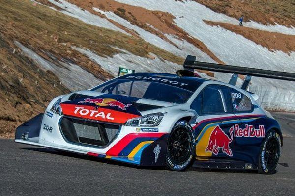 Sébastien Loeb a réalisé un temps de 3 min 26 sec 153/1000 sur la portion chronométrée de 8,3 km
