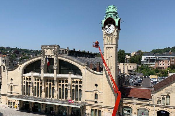 La gare de Rouen est aussi un monument historique de 1928
